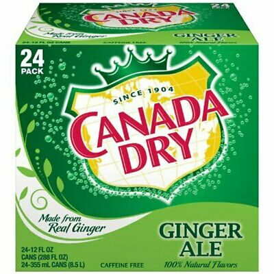 Canada Dry - Ginger Ale (24 x 355ml Cans in a Display Unit)