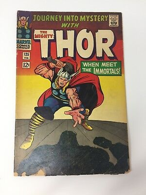 THOR Journey Into Mystery #125 (1966 Marvel) Stan Lee