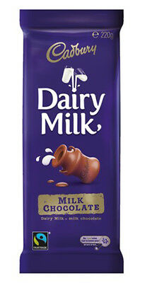 Cadbury Dairy Milk Family Blocks (200g x 16pc box)
