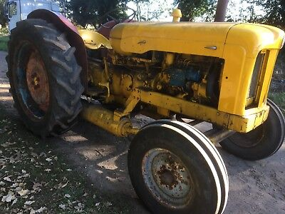 Fordson Major Industrial Compressor Tractor with V5