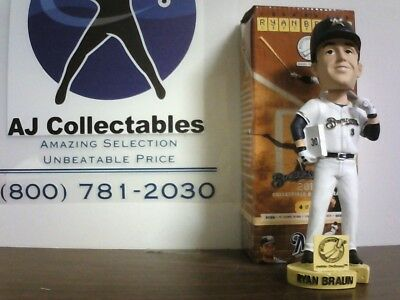 Ryan Braun Milwaukee Brewers 2013 Bobblehead Nib
