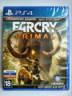 Far Cry Primal Special Edition Playstation 4 PS4 Brand New Factory Sealed