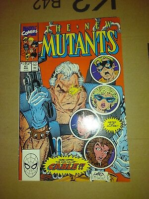 New Mutants 87 (Marvel, 1990) 1st Appearance Cable