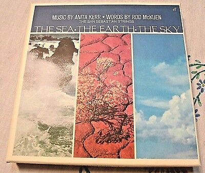 ROD McKUEN 3 CD SET / THE SEA, THE EARTH, THE SKY / Recorded 1968