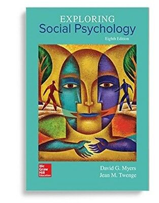 EBOOK Exploring Social Psychology by David Myers (2017) 8TH EDITION EIGHTH