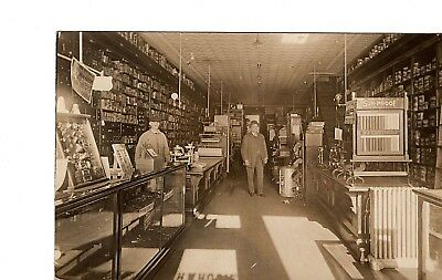 Country General Store ~ 1900S Interior ~ Candy Tobacco Gas Light ~ Cigar G3