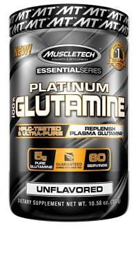 Glutamine Powder 100% Ultra Pure L-Glutamine for Muscle Endurance & Recovery