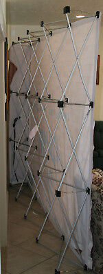 Displayit Trade Show Display Frame 88 X 118 inch Quick up Great Shape