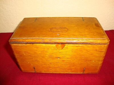 Antique Singer Sewing Machine Attachments In 1889 Puzzle Box
