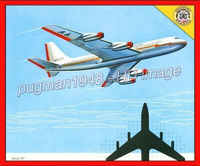 AMERICAN AIRLINES 1956 AIRLINE ANNUAL REPORT...Lovely Illustrations