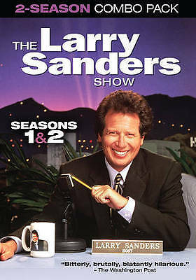 The Larry Sanders Show: Seasons 1  2 (DVD, 2014, 3-Disc Set) BRAND NEW SEALED