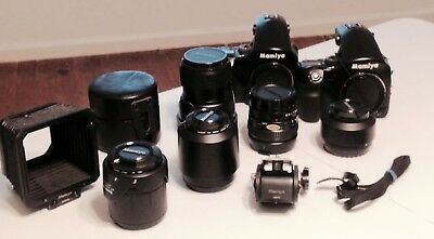 Mamiya 645 AFD extensive camera  system all in Ex condition US ONLY SALE