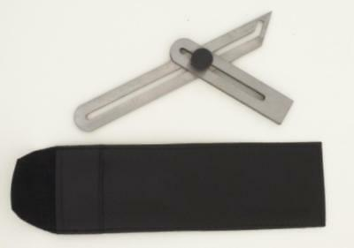 "iGaging adjustable sliding bevel square 6"" stainless steel w/ pouch"