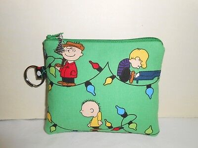 Charlie Brown Inspired Coin bag wallet Handmade Handbag Accessories ~Sale