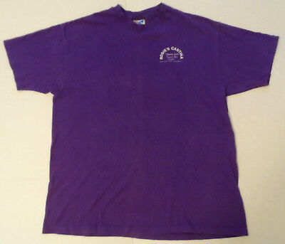 RARE Haleiwa Hawaii ROSIE'S CANTINA Original Tshirt XL Purple w/Full Color Graph