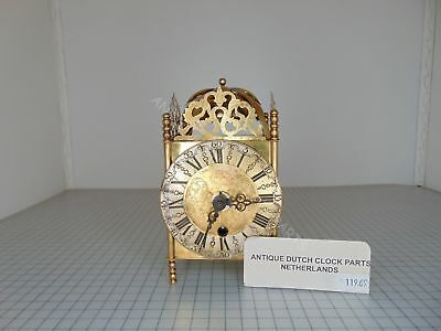 Small Brass Lantern Clock Rob Evers Halfstead Time Only