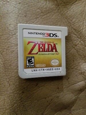 Nintendo 3DS The Legend of Zelda: Ocarina of Time 3D Nintendo Selects Game ONLY