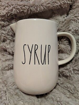 """Rae Dunn NEW """"SYRUP"""" Jug/Pitcher VHTF Canada Release"""