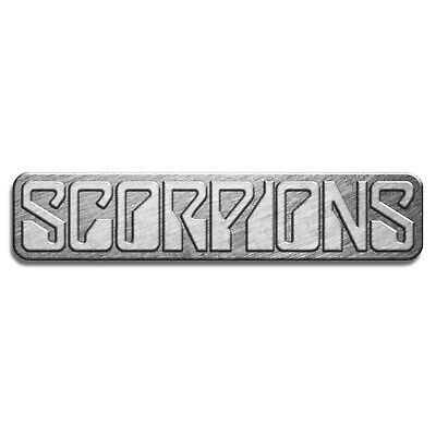 Scorpions Logo Pin Badge Official Metal Band Merch New