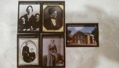 Women's Rights  National Historic  Park Nps  Civil War Civil Right Trading Cards