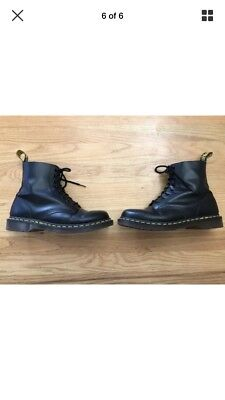 Made in England Dr Martens 1460 Boots, Black, US Mens 9, Excellent Condition