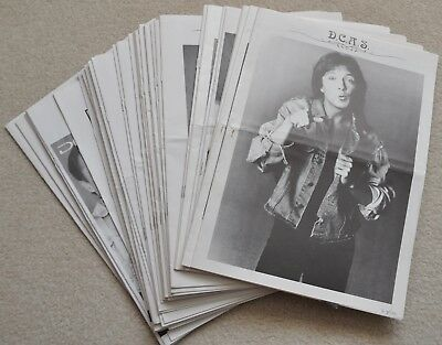 David Cassidy UK Fan Club Letter D.C.A.S 39 issues 1991 to 1999