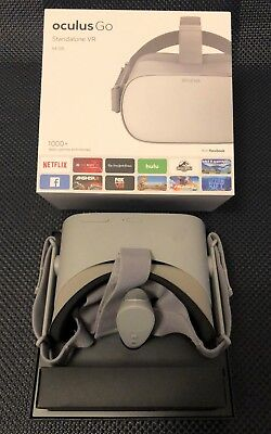 Oculus Go 64GB VR Headset, gently used, original box, all accessories included