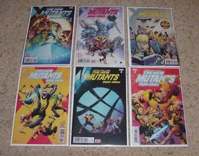 New Mutants Dead Souls #1-6 (Full Run) Matthew Rosenberg! Magik! Doctor Strange!