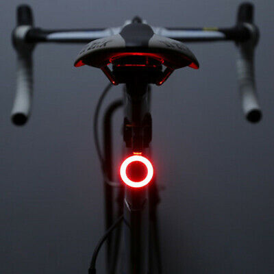 Bicycle Tail Light USB Rechargeable Cycling Bike Rear Back Lamp Waterproof AU