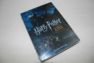 Harry Potter: The Complete 8-Film Collection (DVD 8-Disc set) Free shipping