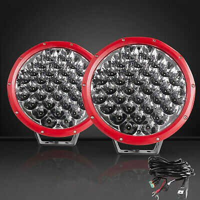 Pair 7 inch CREE LED Driving Lights Spot White Lamp Spotlights 4x4 OffRoad SUV