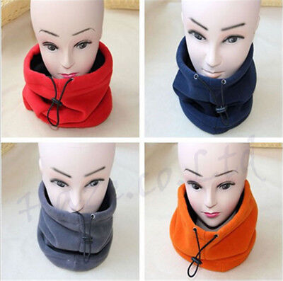 Fleece Snood Scarf Neck Tube Warmer Thermal Motorcycle Ski Cycling