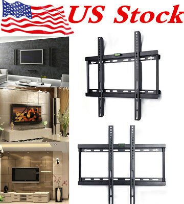 "TV Wall Mount Compact Bracket Vesa For LED LCD Plasma Television 26 – 55"" In US"