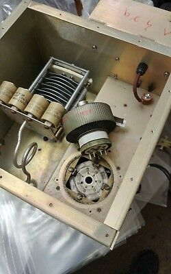 Eimac 8877 3Cx1500A7 Electron Tube. With Base And Housing And Other Parts