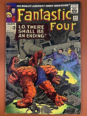 Fantastic Four #43 (1965 Marvel) Frightful Four appearance Silver Age NO RESERVE
