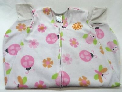 Halo Early Walker Sleep Sack White Floral Size 12-18 Months