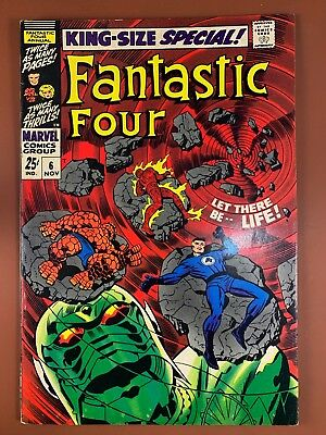 Fantastic Four Annual #6 (1968 Marvel) 1st appearance of Annihilus Silver Age