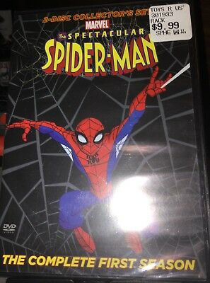 The Spectacular Spider-Man: The Complete First Season (2-Disc DVD 2009) New Rare