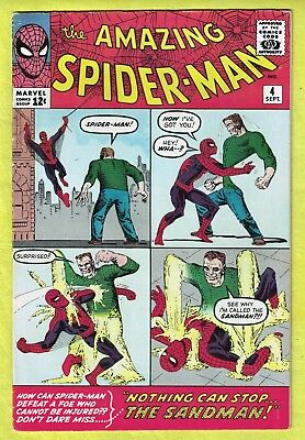 "The Amazing Spider-Man #4 (Sept 1963, Marvel)""Nothing Can Stop... the Sandman!"""