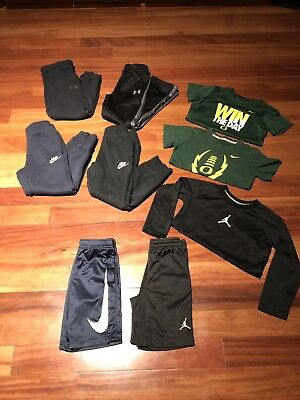 Boys Clothes Nike - Under Armour size 6 and few 4/5 - joggers / t shirt / shorts