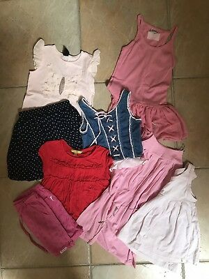 Girls Summer Bundle Size 7 (inc. Fred Bare, Ouch, Minihaha)
