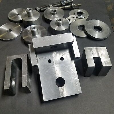 Milling Fixture & Accessories / Grinding Fixture Block Hubs Spacers Angle Plate