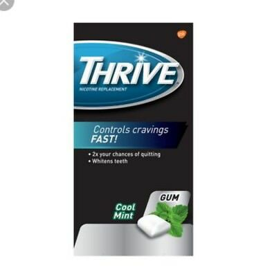 LAST ONES! Thrive nicotine gum 2mg-324 pieces(3 pack)-cool mint flavor.