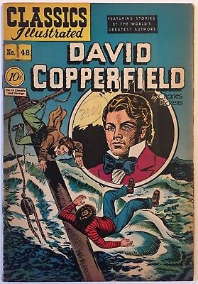 Classic Illustrated 48 David Copperfield Original! HRN 47 70-year old comic