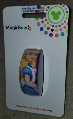 NEW Disney Parks Alice in Wonderland Cheshire Cat Magic Band Link it Later