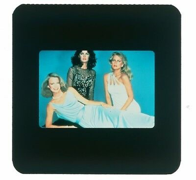 Vintage Transparency Charlie's Angels Cheryl Ladd  Jaclyn Smith Shelley Hack