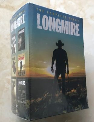 Longmire: The Complete Series Season 1 2 3 4 5 6 ( DVD, 2018, 15-Disc box Set)