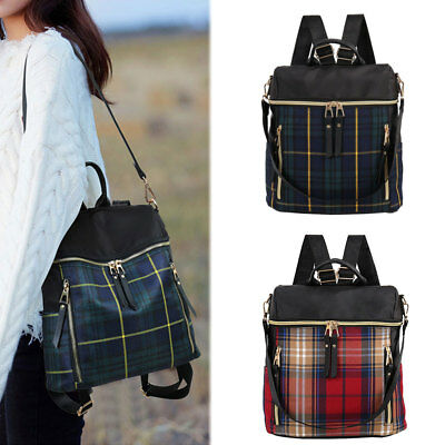 Women Travel Backpack Girls Ladies Fashion Zip School Shoulder Bag Rucksack CA