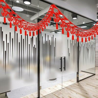 Red Lantern Banner Streamer Flower Chinese New Year Party Hanging Decor 3meter