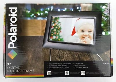"NEW Polaroid 7"" Digital Picture Frame FREE SHIPPING! Seven inch photo PDF-700"